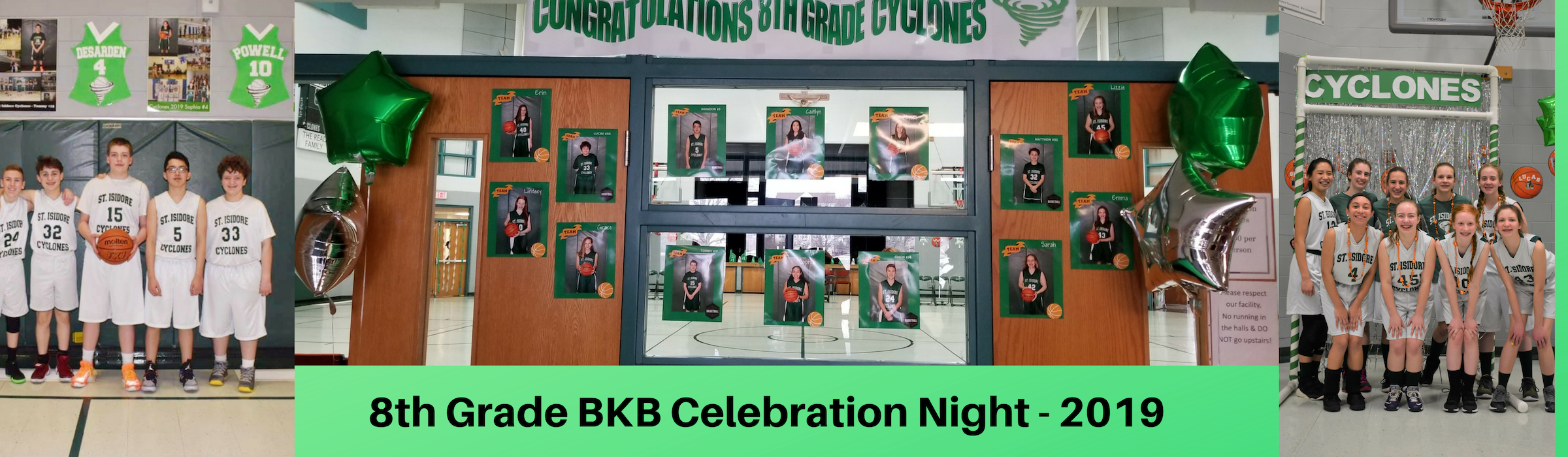 8th Grade BKB Celebration Night – 2019