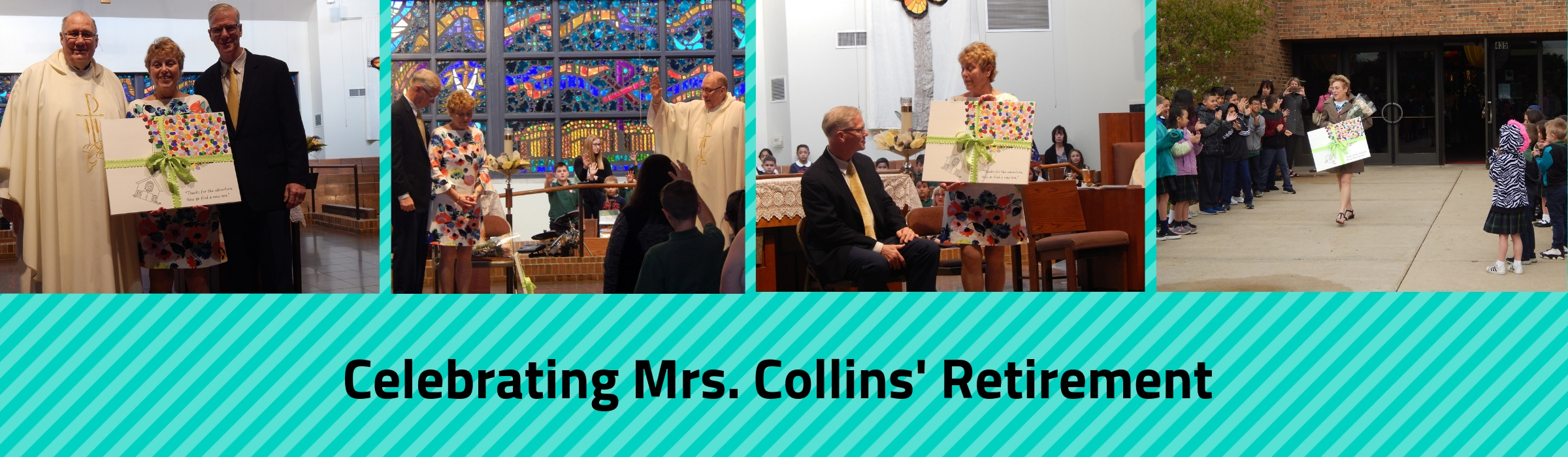 Celebrting Mrs. Collins- Retirement