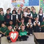 1st Graders Participate in #FlatFrancis to Celebrate Pontiff's U.S. Visit