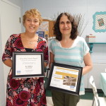 Mrs. Theobald, SIS Recognized by Diocese