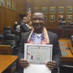 Fr. Clive New US Citizen!