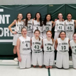 7th/8th Grade Girls Basketball Team Finishes Second in Conference