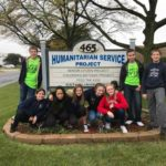 8th Graders Finish Day of Service
