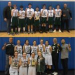 7th Grade Boys, 8th Grade Girls Conference Tourney Champs!
