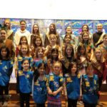 Girl Scouts Receive a Blessing