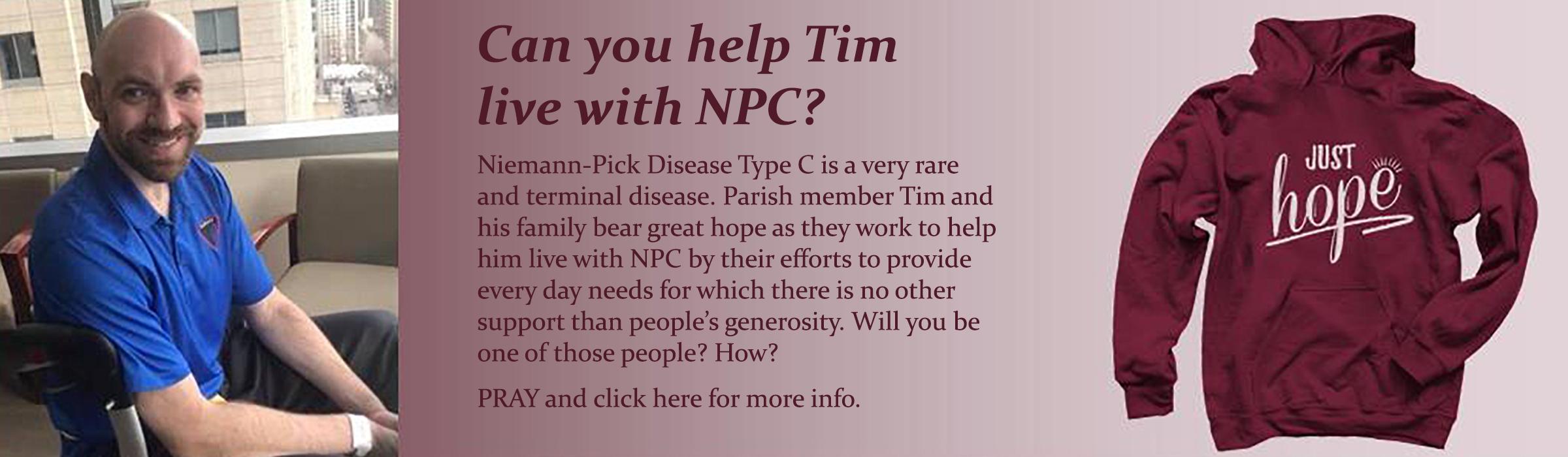 Tim just hope