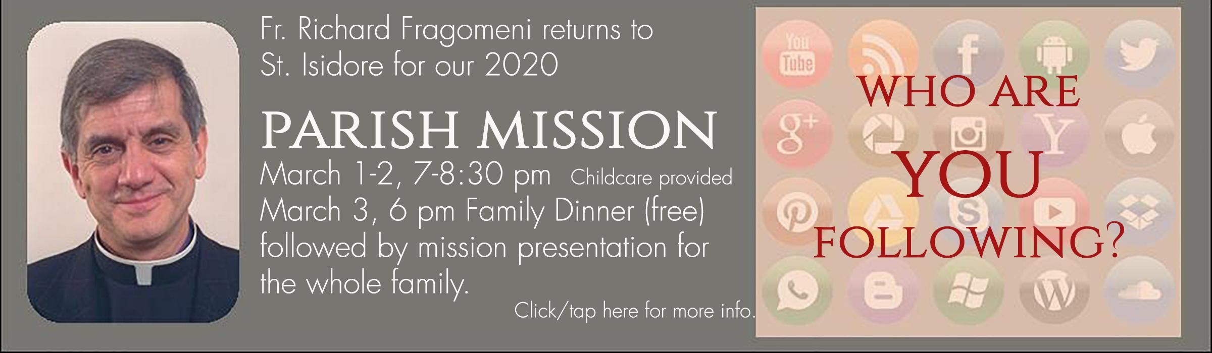 parish mission 2020 slider
