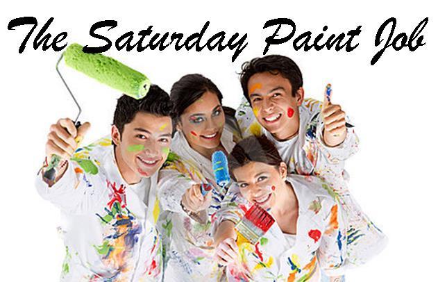 Saturday Paint Job