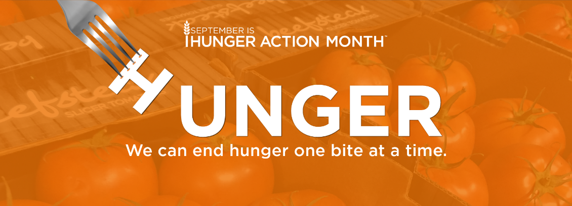 Hunger Action Month logo 2020