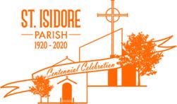 Orange line drawing logo