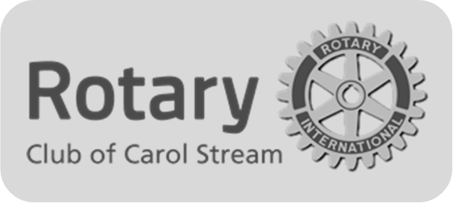 Rotary of CS logo with rounded edges