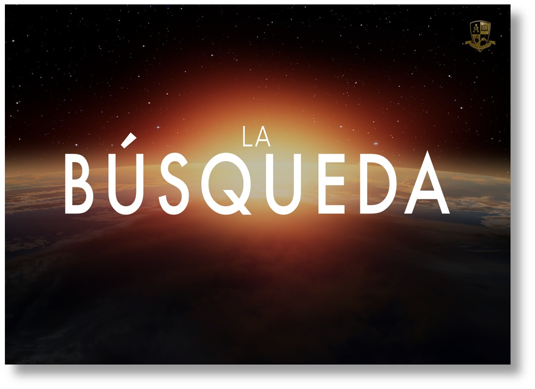 Busqueda - The Search - in Spanish - promo pic